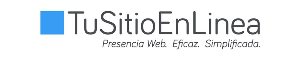 Logo y Slogan de TuSitioEnLinea - ¿Quien es TuSitioEnLinea?